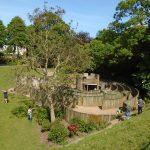 Children's maze in the Dane John Gardens